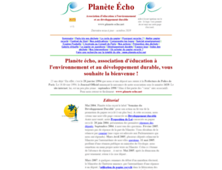 planete-echo.net screenshot