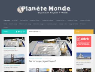 planete-monde.com screenshot