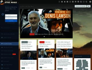 planete-starwars.com screenshot