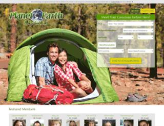 planetearthsingles.com screenshot