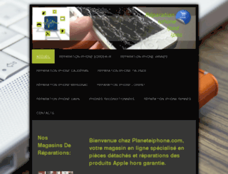 planeteiphone.com screenshot