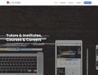 planetetutors.com screenshot