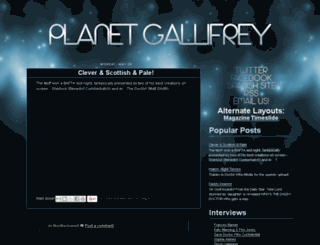 planetgallifrey.blogspot.com screenshot