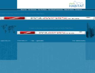 planethabitat.net screenshot