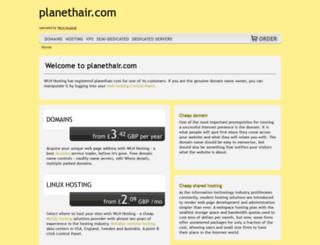 planethair.net screenshot