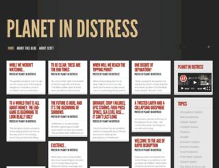 planetindistress.com screenshot