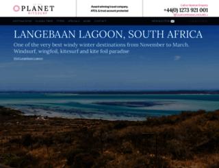 planetkitesurfholidays.com screenshot