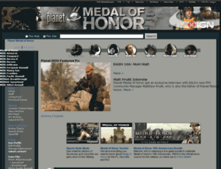 planetmedalofhonor.gamespy.com screenshot