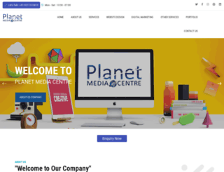 planetmediacentre.com screenshot