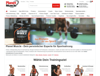 planetmuscle.de screenshot