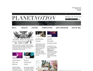 planetnotion.com screenshot