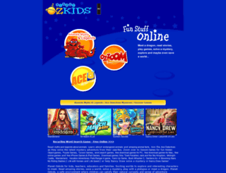 planetozkids.com screenshot