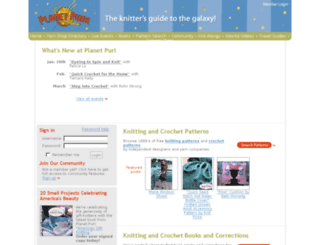 planetpurl.com screenshot