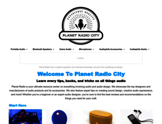 planetradiocity.com screenshot
