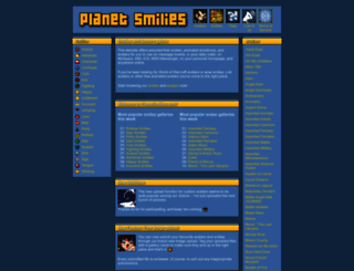 planetsmilies.com screenshot