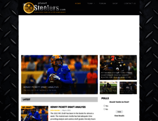 planetsteelers.com screenshot