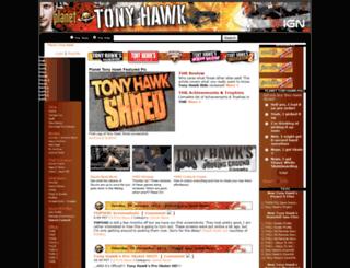 planettonyhawk.gamespy.com screenshot
