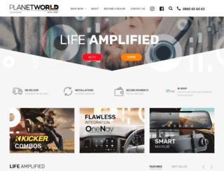 planetworld.co.za screenshot