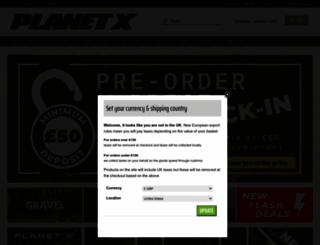 planetx.co.uk screenshot