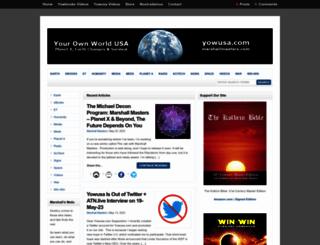 planetxtownhall.com screenshot