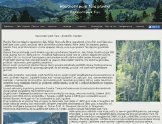planina.tara-zaovine.com screenshot