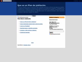 planjubilacion.blogspot.com screenshot