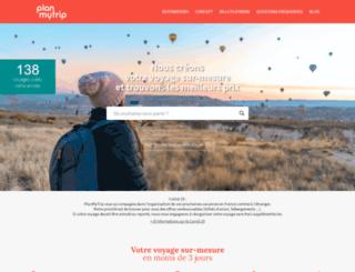 planmytrip.fr screenshot