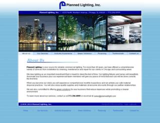 plannedlight.com screenshot