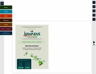 planner.gohawaii.com screenshot