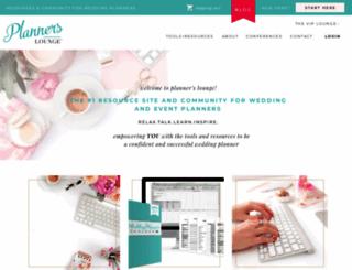 plannerslounge.com screenshot