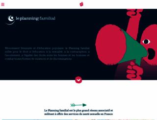 planning-familial.org screenshot