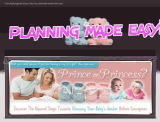planningthegender.weebly.com screenshot