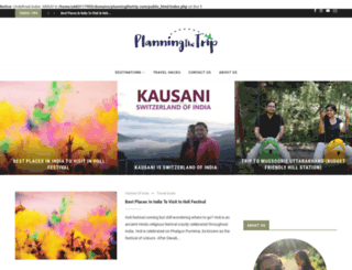 planningthetrip.com screenshot