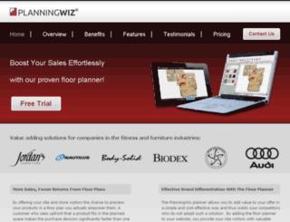 planningwiz.de screenshot