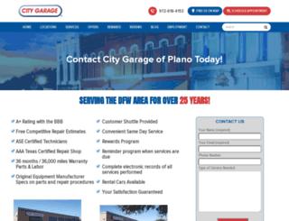 plano.citygaragedfw.com screenshot