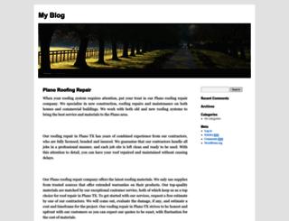 planoroofingrepair.com screenshot