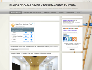 planosdecasas.blogspot.mx screenshot