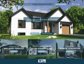plans-design.ca screenshot