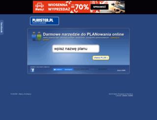 planster.pl screenshot