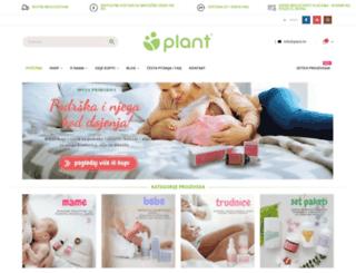 plant.hr screenshot