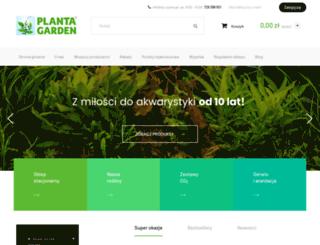 plantagarden.pl screenshot