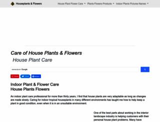 plantandflowerinfo.com screenshot