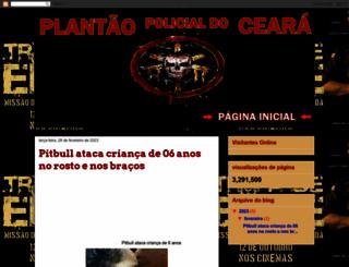 plantaopolicialceara.blogspot.com.br screenshot