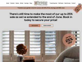 plantation-shutters.co.uk screenshot