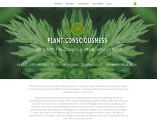 plantconsciousness.com screenshot