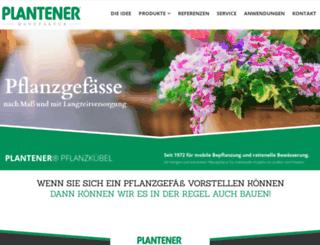 plantener.de screenshot