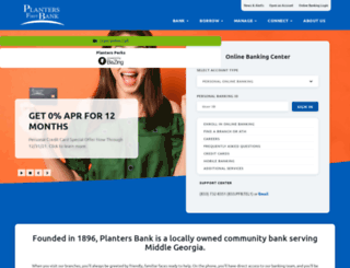 plantersfirst.com screenshot