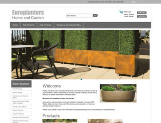 plantersparadise.co.uk screenshot