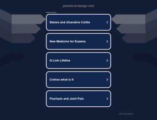 plantes-et-design.com screenshot