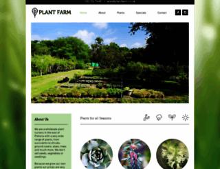 plantfarm.co.za screenshot